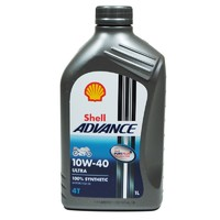 Shell 殼牌 Advance Ultra 10W-40 愛德王子四沖程 1L 4瓶裝