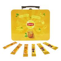 立頓Lipton 奶茶 原味+鴛鴦奶茶LINE FRIENDS悠享裝40條650g *6件