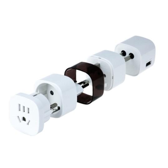 Wonplug 万浦 UN80 全球旅行插座 USB款