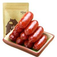 限地区、京东PLUS会员:Be&Cheery 百草味 烟熏味炭烤小香肠 180g *2件