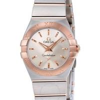OMEGA 欧米茄 Constellation 星座系列 123.20.24.60.02.001 女士时装腕表