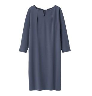 GU 极优 315428 七分袖连衣裙