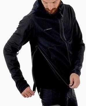 MAMMUT 猛犸象 Mountain系列 男士连帽冲锋衣