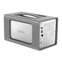 Orico 奧睿科 2盤位 外置3.5寸Type-C 硬盤柜