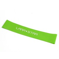 LARA STAR 勞拉之星 健身彈力圈 綠色10磅款