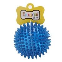 EETOYS 宜特 寵物狗玩具球 大號刺球 藍色