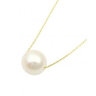 GLADD Akoya珍珠 9mm K18金珍珠项链