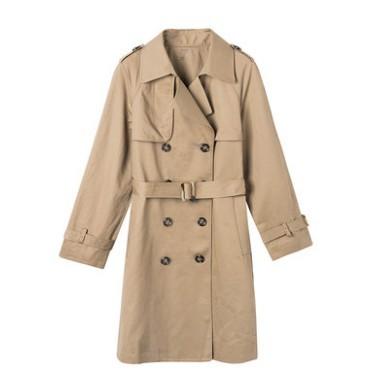 PurCotton 全棉时代 4100590017 女士风衣