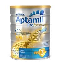 Aptamil 爱他美 白金版 婴儿奶粉 3段 900g *5件