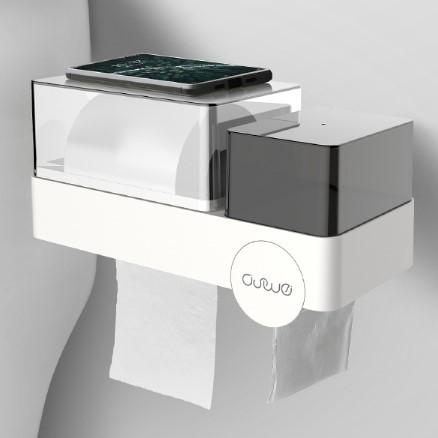 ASCOR 艾仕可 ASK644 卫生间纸巾盒置物架