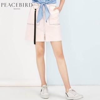 PEACEBIRD 太平鸟 女士牛仔半身裙