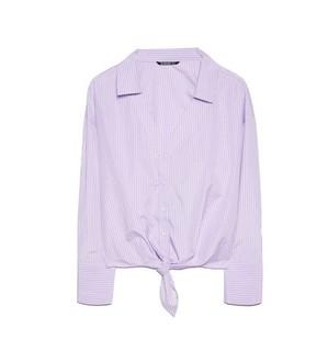 Stradivarius 06185777601 女士条纹衬衫