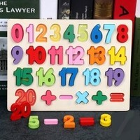 ginirabbit 吉妮兔 兒童數字/字母配對板 4款可選