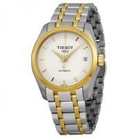 TISSOT 天梭 Couturier 库图系列 T035.207.22.011.00 女士机械腕表