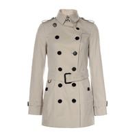 新补货、限尺码:BURBERRY 博柏利 3913358 女款经典Heritage Trench女士风衣
