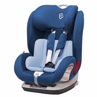 Babyfirst 宝贝第一  汽车儿童安全座椅 9月-12岁 铠甲舰队尊享版ISOFIX 深海蓝