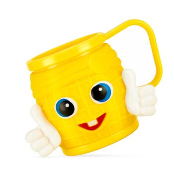 英国哈丁宝贝 卡通型儿童牙刷杯塑料漱口杯(款色随机发货) 婴儿宝宝牙刷架
