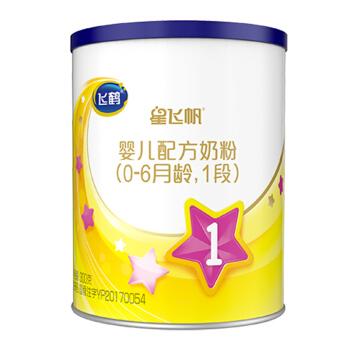 飞鹤星飞帆 婴儿配方奶粉 1段(0-6个月婴儿适用) 300克
