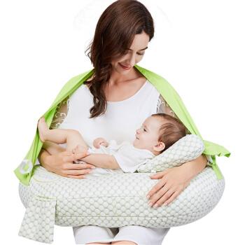 爱孕(iyun)哺乳枕喂奶枕益生菌多功能哺乳垫护腰枕喂奶神器