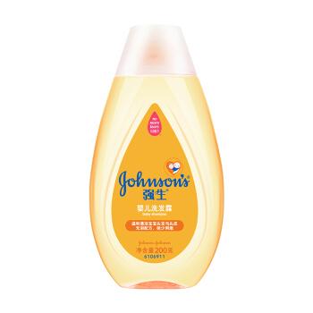 强生(Johnson)婴儿洗发露200g(无泪配方)儿童洗头发水宝宝洗发液