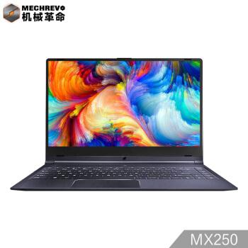 MECHREVO 机械革命 S1-03 轻薄笔记本电脑  窄边框 (星空灰、14英寸、1920×1080、独立显卡、256GB SSD、8GB、i7-8565U)