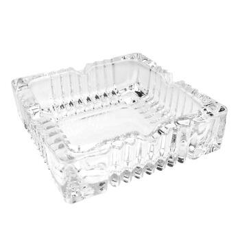菲迪拉中号方形玻璃烟缸烟灰缸7116-3
