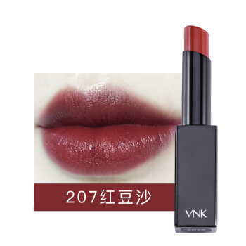 VNK 暗夜之吻口红 207#红豆沙 3.2g ( 保湿 不易脱色 唇膏 滋润)
