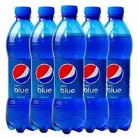 中亚Prime会员:PEPSI 百事可乐 blue 梅子口味可乐 450ml*5瓶