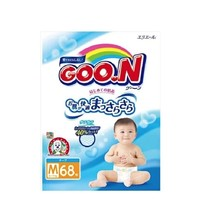 GOO.N 大王 维E系列 婴儿纸尿裤 M68片