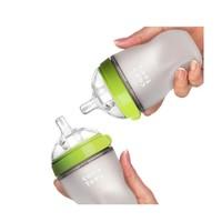 移动端:Comotomo 可么多么 婴儿全硅胶防摔奶瓶  250ml 两个装