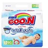 移动端:GOO.N 大王 维E系列 婴儿纸尿裤 S90片