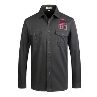 Lonsdale 龙狮戴尔 HY113310474 男款长袖衬衫