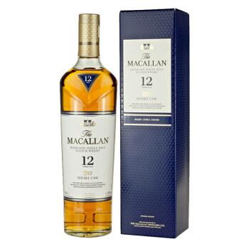 MACALLAN 麦卡伦 12年蓝钻单一麦芽苏格兰威士忌 40度 700ml