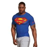 移动端:UNDER ARMOUR 安德玛 HeatGear英雄系列 短袖紧身T恤