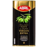 京東PLUS會員 : 艾伯瑞特級初榨橄欖油5L/升 鐵罐 西班牙原裝進口食用油 福利 送禮 *3件