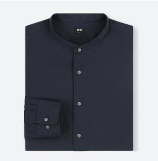UNIQLO 优衣库 UQ409282100 男士棉质立领衬衫