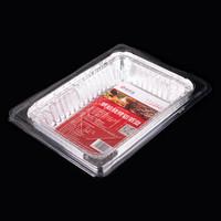 尚烤佳 錫紙 鋁箔盤 燒烤盤 烤肉盤 燒烤烘焙鋁箔盒 五只裝 *9件
