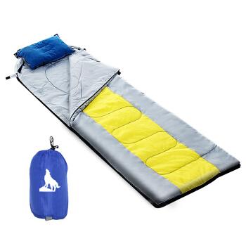 北極狼 BeiJiLang 睡袋成人戶外旅行冬季四季保暖室內露營棉睡袋空調被午睡蓋毯