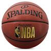 斯伯丁SPALDING NBA燙金比賽籃球7號藍球 室內外PU耐磨76-315Y