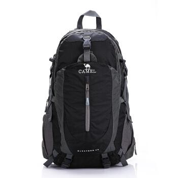 骆驼(CAMEL) 登山包背包 户外旅行背包双肩包徒步背包 40L 1F01018 黑色