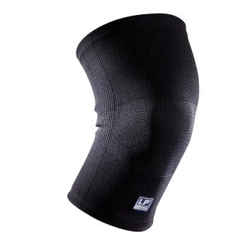 LP647KM运动护膝高透气健身跑步硅胶防滑男女士膝关节春夏季防护护具 M