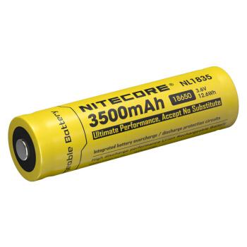 NITECORE奈特科尔 NL1835 充电锂电池 3500mAh 黄色