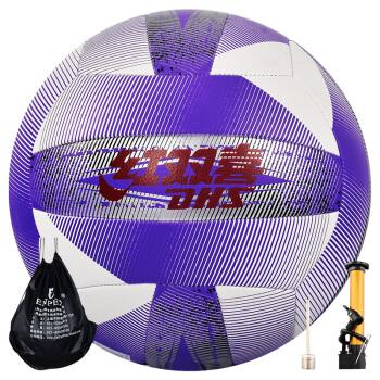 红双喜 DHS 室内外比赛PU材质软排球5号沙滩排球  FV5-001B