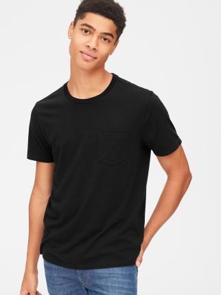 Gap 盖璞 440850 男士短袖口袋T恤