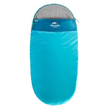 NH挪客 睡袋成人戶外春秋季帳篷露營 室內單人午休加大棉睡袋 1.9kg 孔雀藍