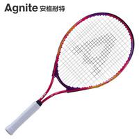 安格耐特(Agnite)網球拍入門級 兒童青少年網拍 紅色 F2502(已穿線) *3件