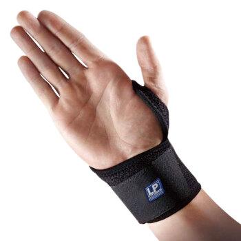 LP739KM护腕拇指固定型网球羽毛球篮球运动扭伤手腕护具 均码