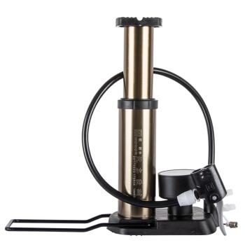 欧耐 HON-1845D 便携脚踩打气筒 山地车自行车电动车打气筒
