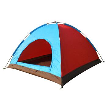 尚龙休闲帐篷 4-5人大号单层帐篷 纱门纱窗防雨遮阳 家庭户外野餐露营