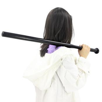 野人部落 YERENBULUO 加重加厚合金钢 棒球棒 车载防身棒球棍加硬加长防卫  黑色
